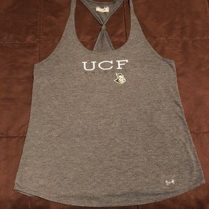 UCF Workout Tank with Knot Racerback